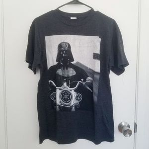 Star Wars Shirts - Star Wars Biker Darth Vader Tee